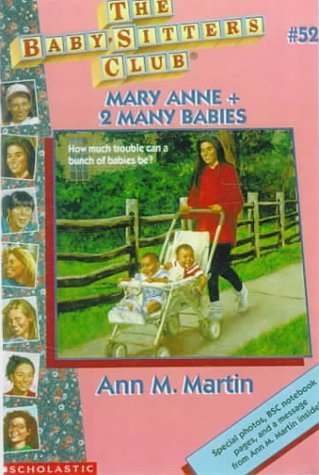 Mary Anne + 2 Many Babies (The Baby-Sitters Club #52)  AudioBook Listan Online