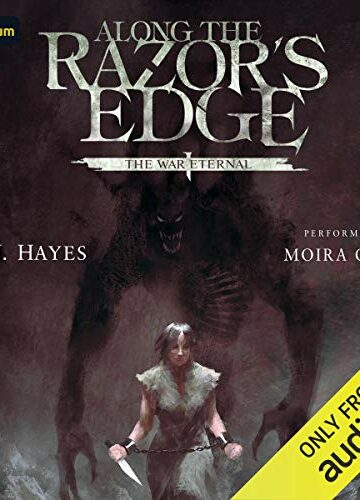 Along the Razor's Edge (The War Eternal #1)  AudioBook Listan Online